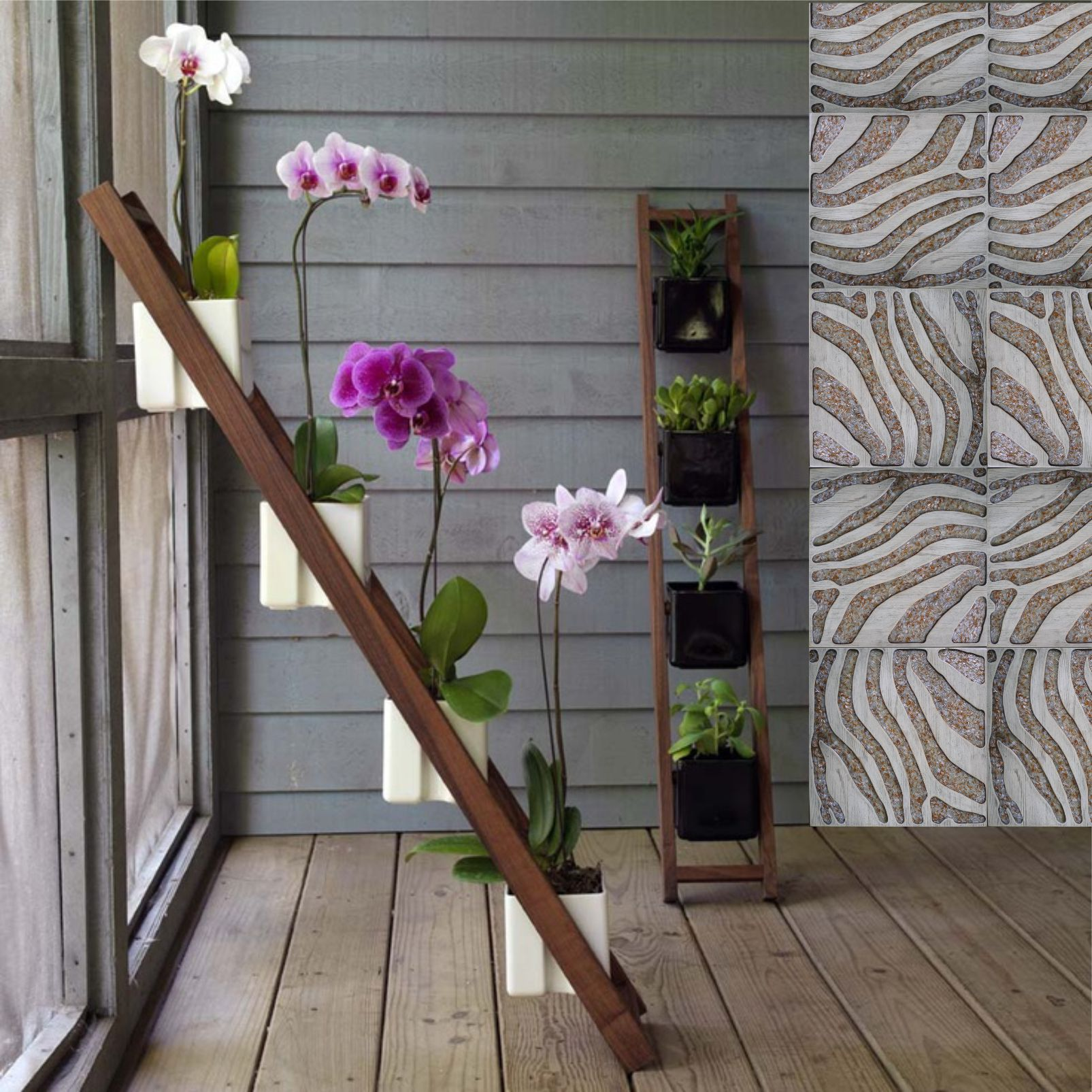 Подставки для орхидей своими руками
